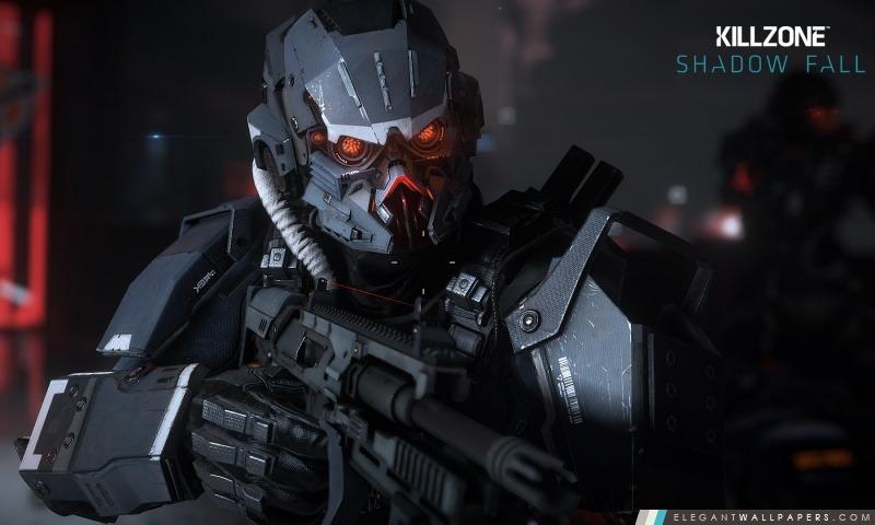 Automne Killzone Ombre, Helghast infanterie, Arrière-plans HD à télécharger