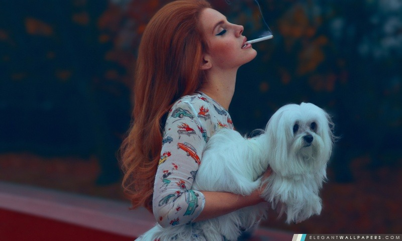 Lana Del Rey – National Anthem, Arrière-plans HD à télécharger