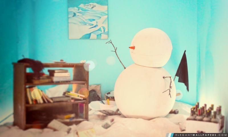 Bonhomme de neige, Arrière-plans HD à télécharger