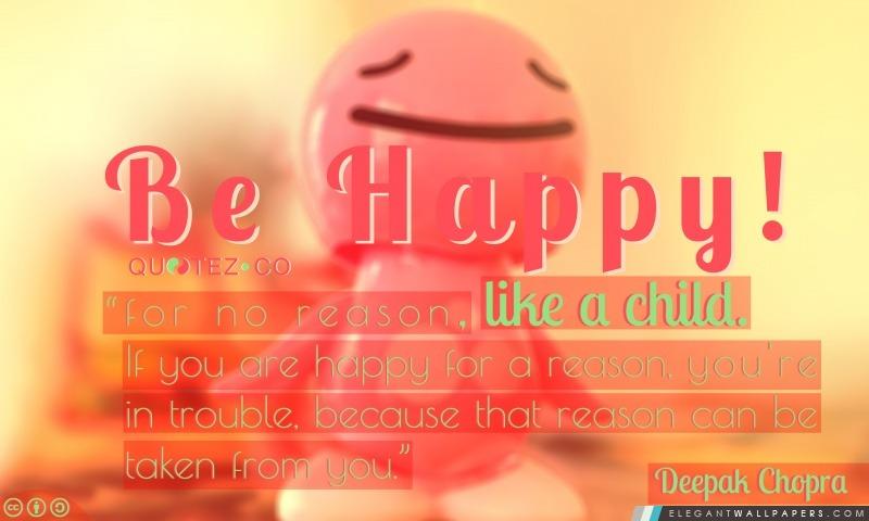 Soyez heureux comme un enfant, Arrière-plans HD à télécharger