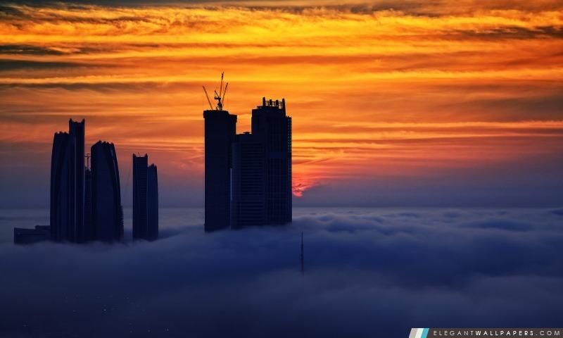 Abu Dhabi, Arrière-plans HD à télécharger