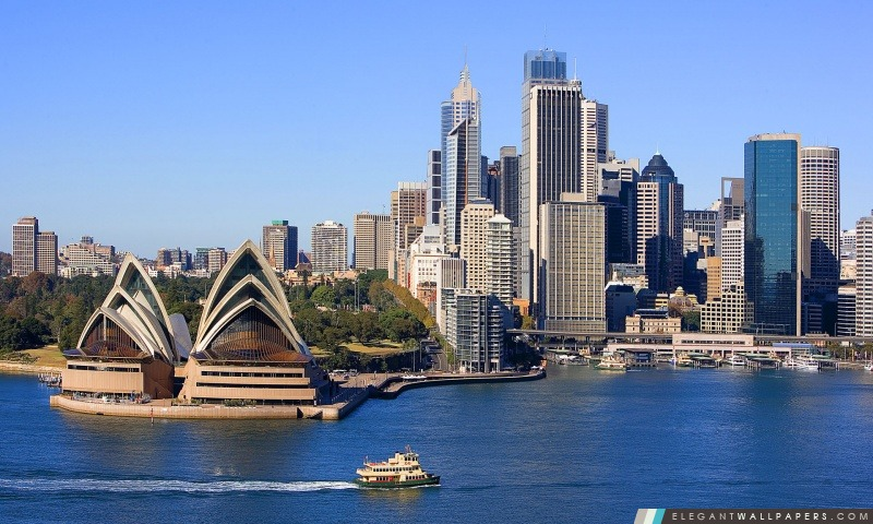 Sydney Skyline, Arrière-plans HD à télécharger