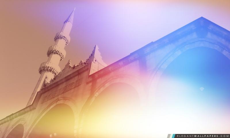 Mosquée, Arrière-plans HD à télécharger