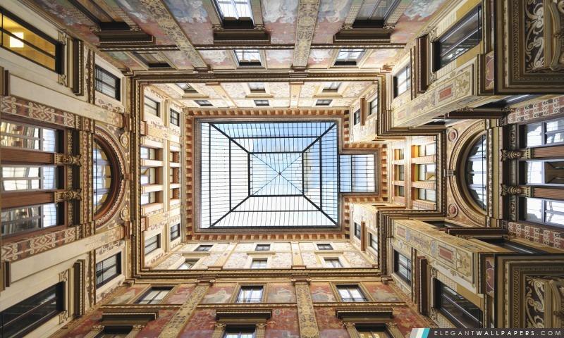 Piazza Colonna, Rome, Italie, Arrière-plans HD à télécharger