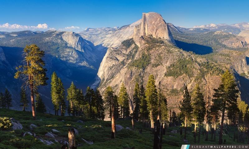 Spectaculaire Mountain View, Arrière-plans HD à télécharger