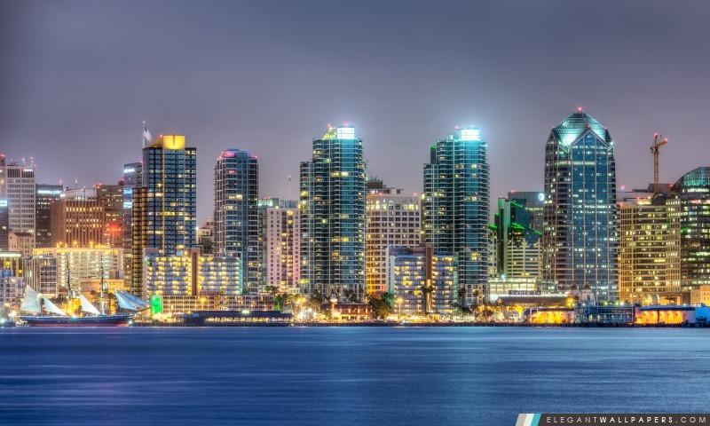 Horizon de San Diego, Arrière-plans HD à télécharger