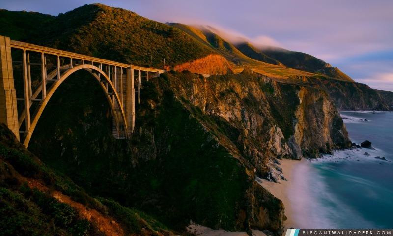 Bixby Bridge, Arrière-plans HD à télécharger