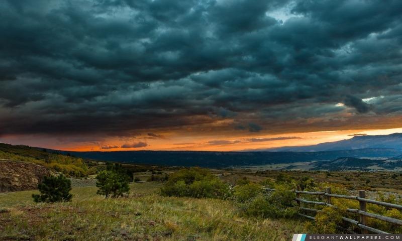 Gris Storm Clouds, Arrière-plans HD à télécharger