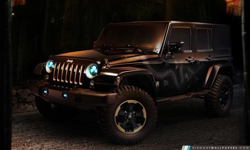 Jeep Wrangler Concept Car, Arrière-plans HD à télécharger