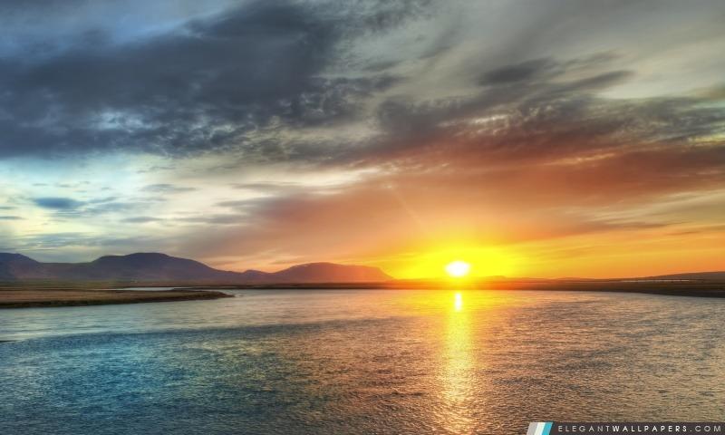 Beau coucher du soleil, HDR, Arrière-plans HD à télécharger