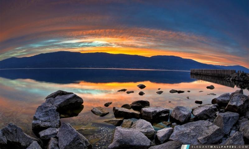 Golden Sunset, Arrière-plans HD à télécharger
