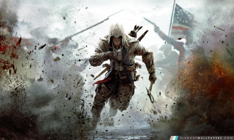 Creed 3 Connor Free Running Assassin, Arrière-plans HD à télécharger