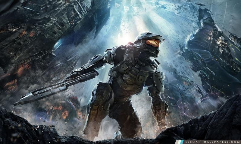 Halo 4 (2012), Arrière-plans HD à télécharger