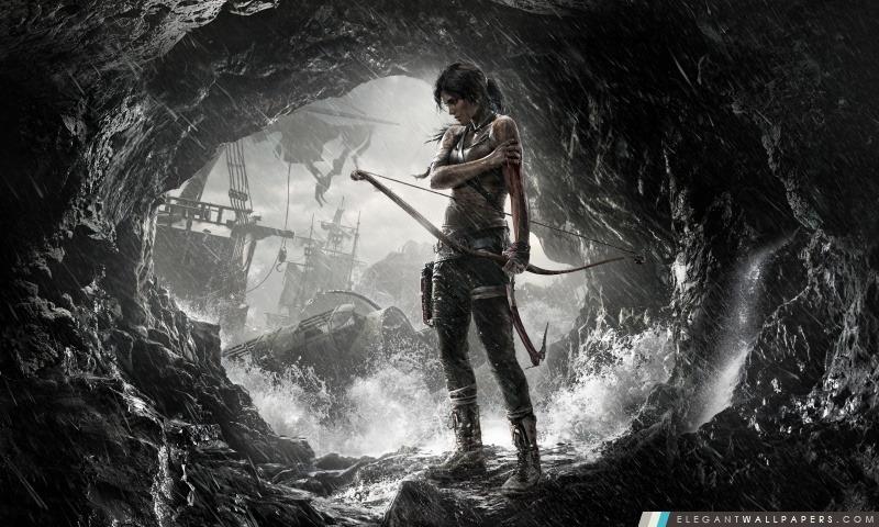Tomb Raider Lara Croft 2013, Arrière-plans HD à télécharger