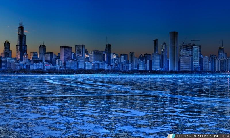 Horizon de Chicago, Arrière-plans HD à télécharger