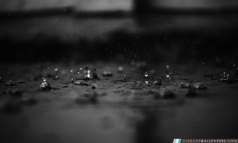 Gouttes de pluie, Arrière-plans HD à télécharger