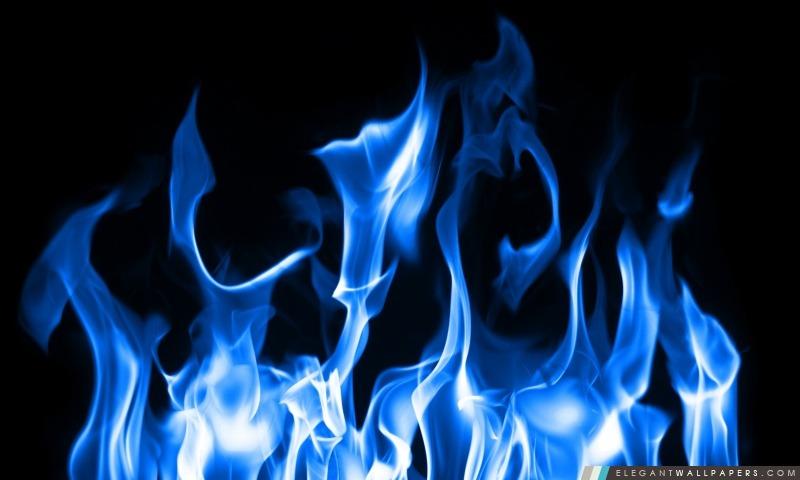 Blue Fire, Arrière-plans HD à télécharger