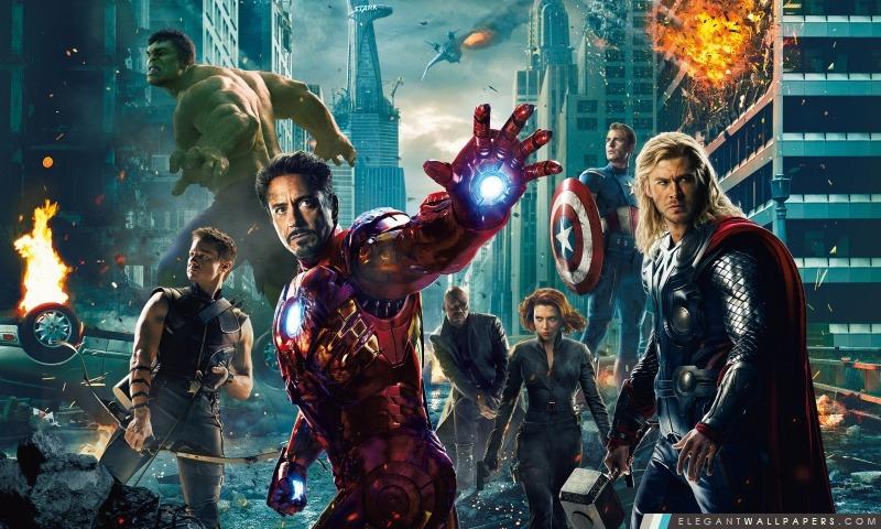 The Avengers, Arrière-plans HD à télécharger