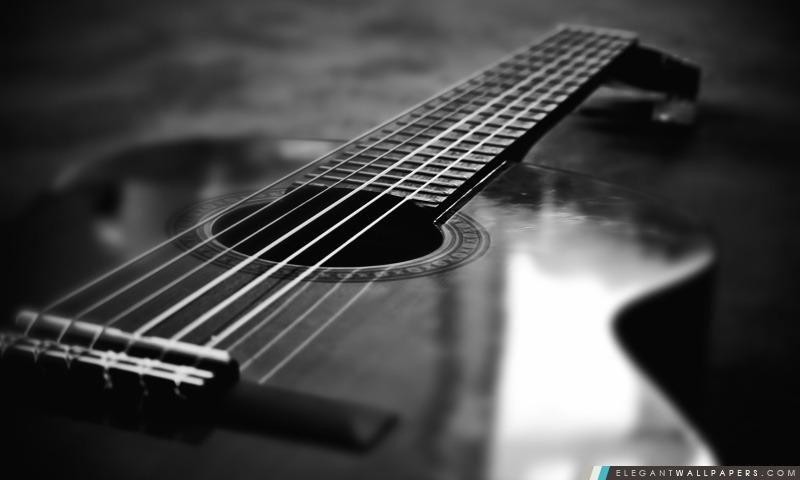 Old Music Score Background 4k Hd Desktop Wallpaper For 4k: Guitare. Fond D'écran HD à Télécharger