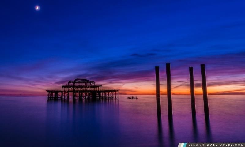 Brighton Pier, Arrière-plans HD à télécharger