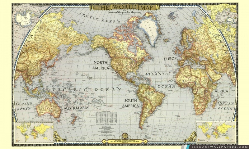 carte du monde wallpaper Carte du monde | Elegant Wallpapers