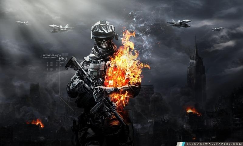 Battlefield 3 Zombies, Arrière-plans HD à télécharger