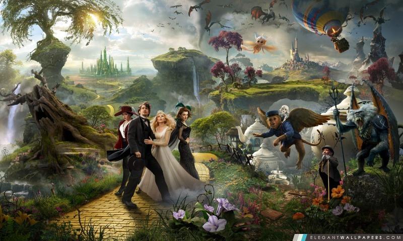 Oz le Grand et Puissant 2013 Film, Arrière-plans HD à télécharger