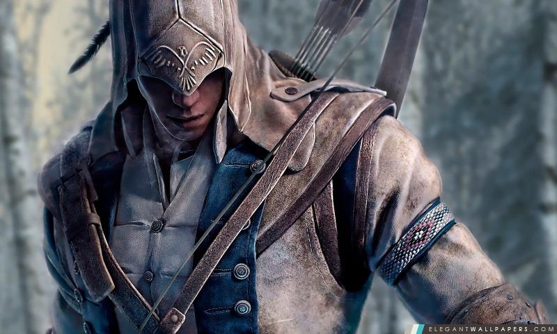 Creed 3 Connor Assassin, Arrière-plans HD à télécharger