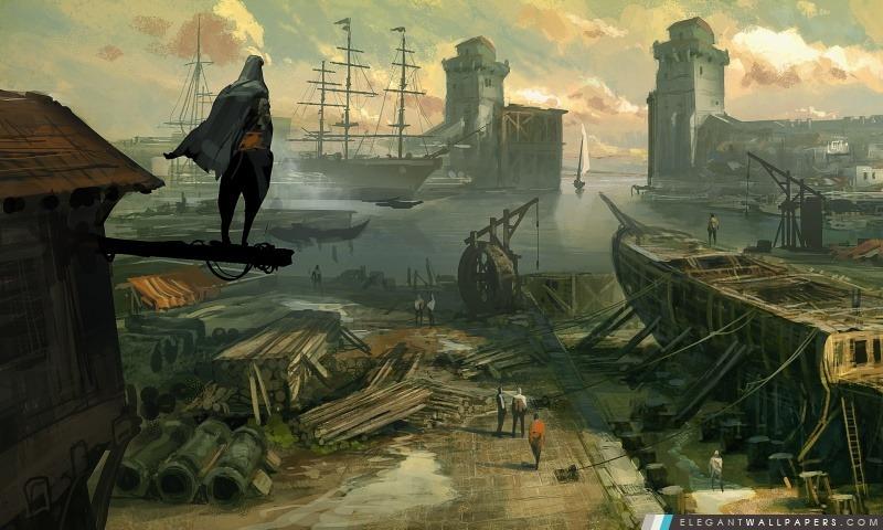 Révélations Creed Concept Art Assassin, Arrière-plans HD à télécharger