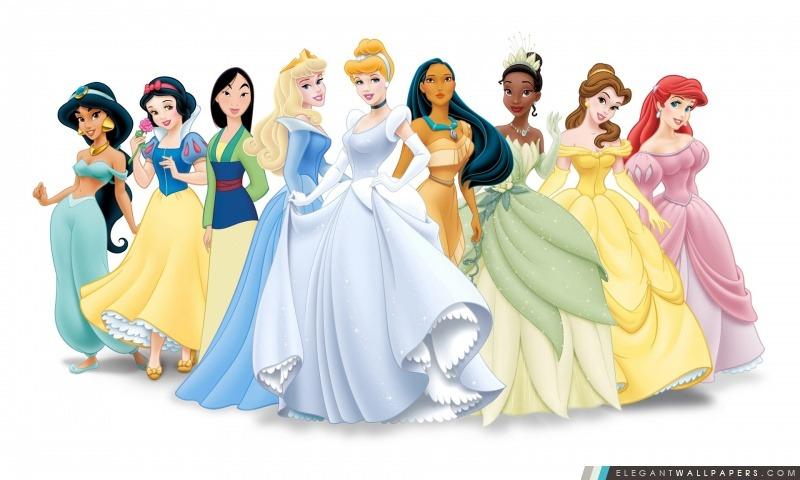 Disney Princess Fond Décran Hd à Télécharger Elegant