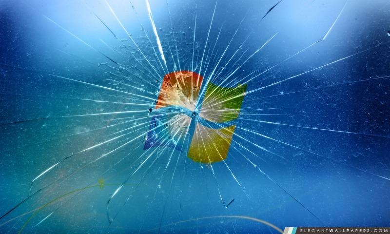 Windows cassé, Arrière-plans HD à télécharger