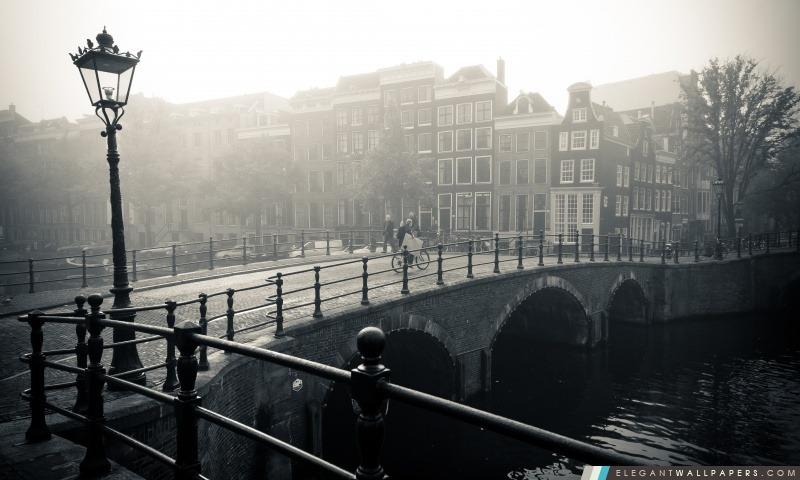Misty Amsterdam, Arrière-plans HD à télécharger