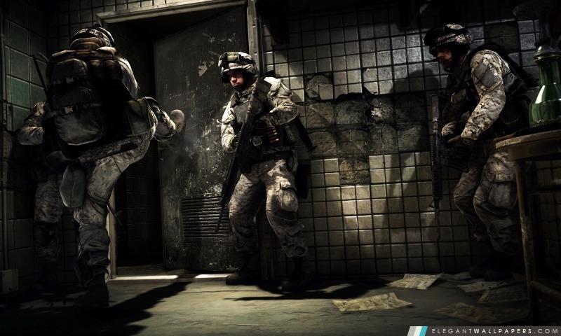 Battlefield 3 soldats, Arrière-plans HD à télécharger