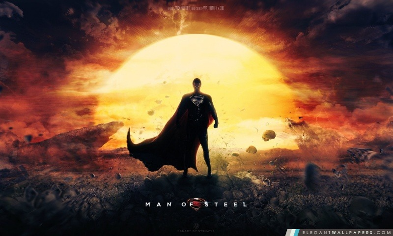 Man Of Steel Wallpaper film Superman, Arrière-plans HD à télécharger