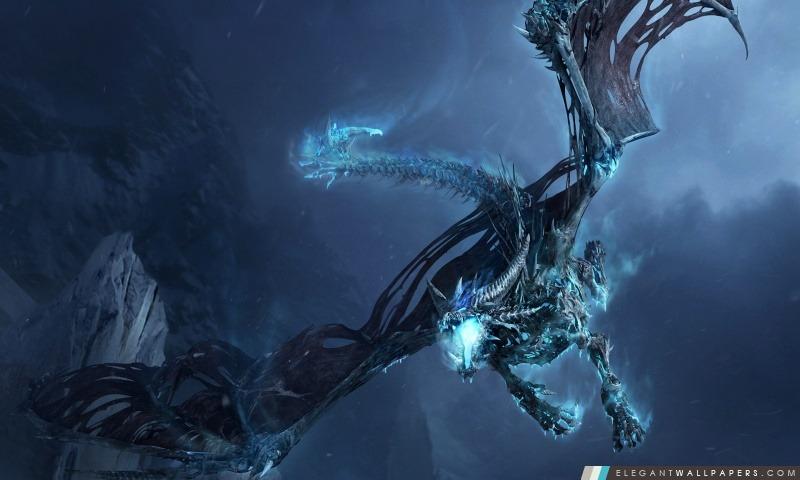 World Of Warcraft Dragon de glace, Arrière-plans HD à télécharger