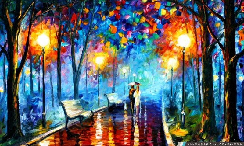 Complet Peinture abstraite. Fond d'écran HD à télécharger | Elegant Wallpapers BM24