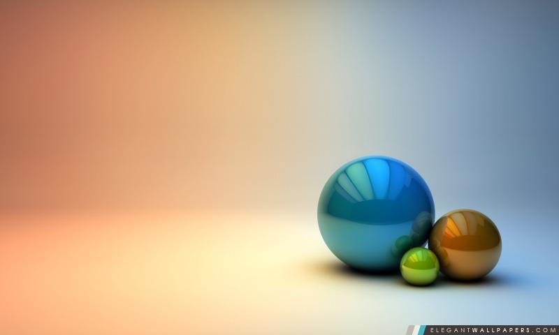 Les Trois boules, Arrière-plans HD à télécharger