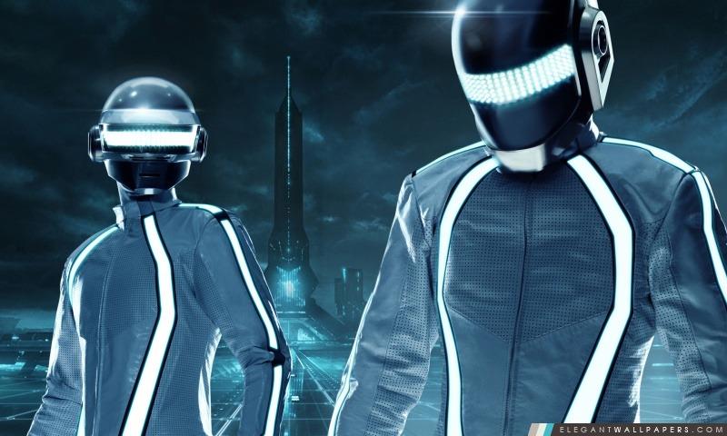 Tron Legacy Daft Punk, Arrière-plans HD à télécharger
