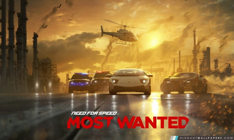 Need for Speed Most Wanted 2012, Arrière-plans HD à télécharger