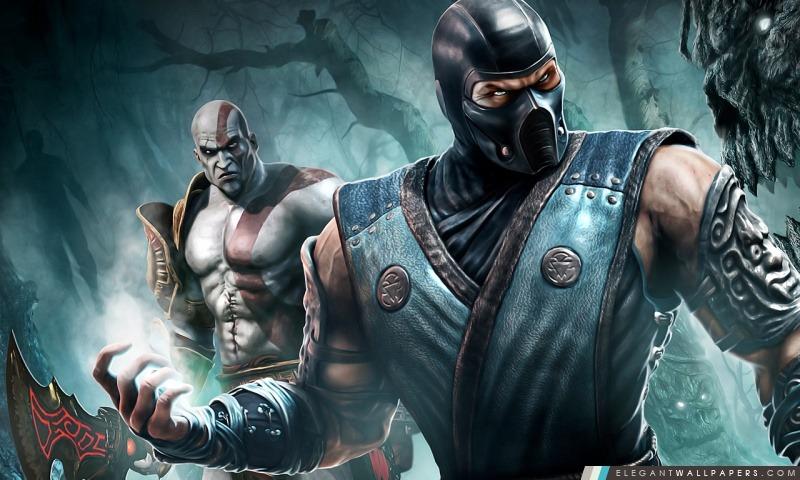 Sub Zero Et Kratos, Arrière-plans HD à télécharger