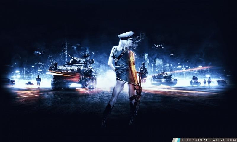 Battlefield 3 Fille, Arrière-plans HD à télécharger
