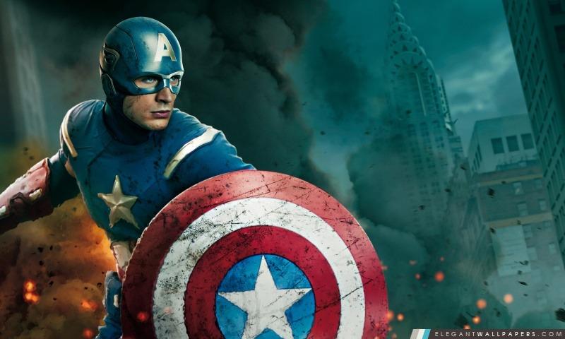 The Avengers – Captain America et Thor, Arrière-plans HD à télécharger