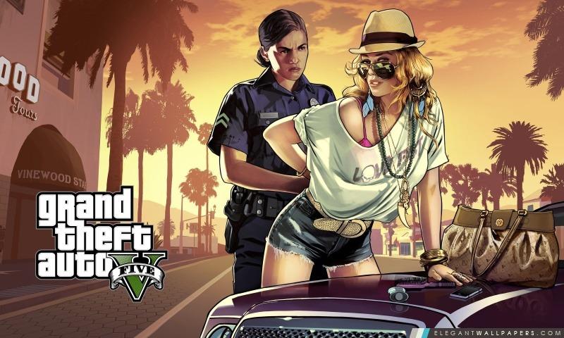 Grand Theft Auto GTA V 2013, Arrière-plans HD à télécharger