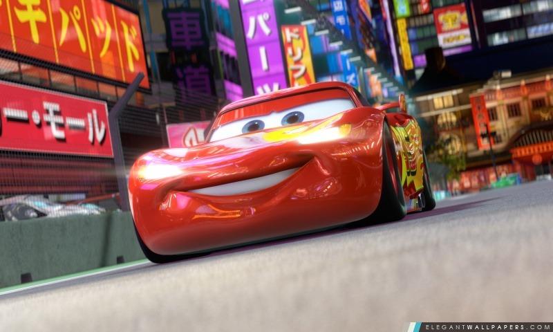 Cars 2 (2011), Lightning McQueen, Arrière-plans HD à télécharger