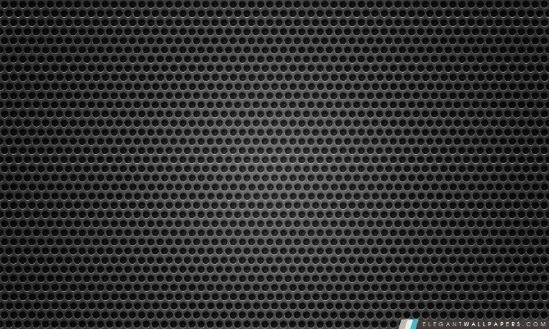 Fond noir trou en métal. Fond d'écran HD à télécharger | Elegant Wallpapers