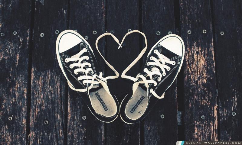 Sneakers Amour Fond D écran Hd à Télécharger Elegant