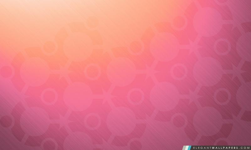 Ubuntu fond rose, Arrière-plans HD à télécharger
