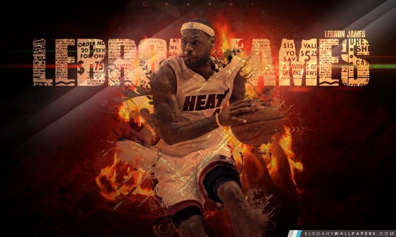 LeBron James, Arrière-plans HD à télécharger