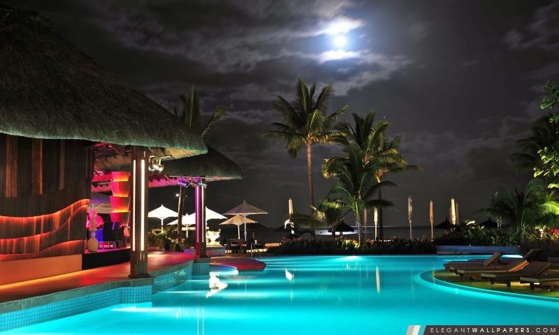 Piscine Resort, Arrière-plans HD à télécharger