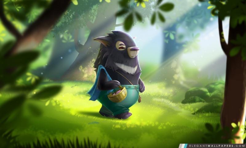 Animal Fantastique Dans La Forêt Fond D écran Hd à